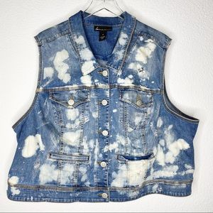 Lane Bryant Plus Size Sleeveless Vest